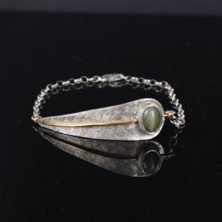Silver Olive Leaf Bracelet