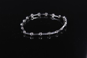 White Gold & Diamond Bracelet