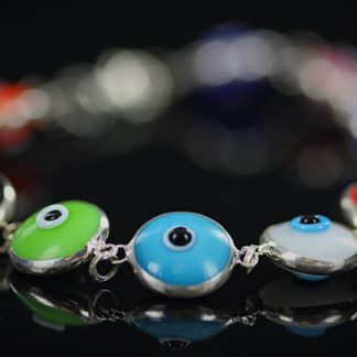 Colorful Silver Bracelet